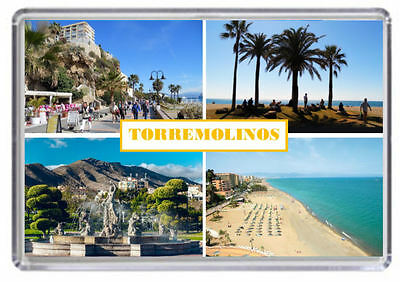 Torremolinos Costa del Sol Spain Fridge Magnet 01