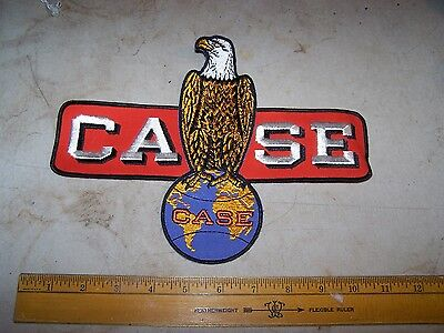 Vintage J.I. CASE Large Patch - Unused - Employee Uniform Back Implement Tractor