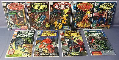 TOWER OF SHADOWS #1 2 3 4 5 6 7 8 9 (Full Run) Marvel Comics 1969 Ditko Steranko