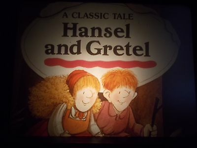 HANSEL AND GRETEL audiobook / filmstrip RARE