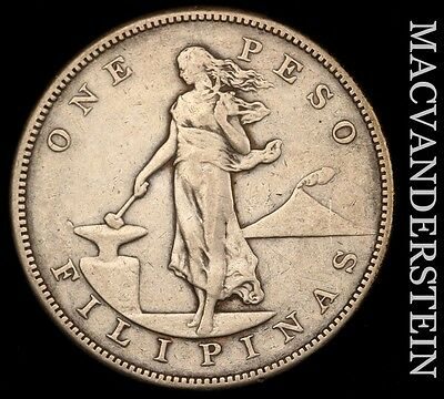 Philippines (U.s.a.): 1904-S One Peso - Silver!!  Scarce!!  #u4937
