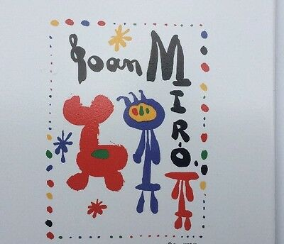 Joan Miro Tile Excellent Condition