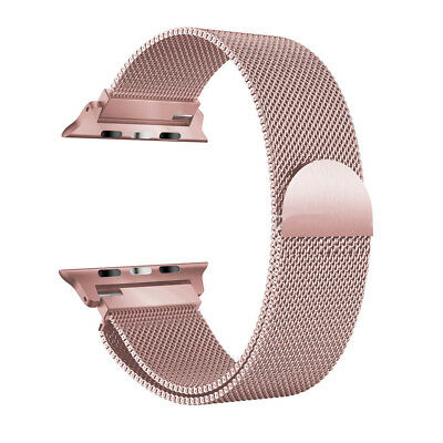Deluxe Milanese Loop Mesh Stainless Steel Magnetic Band for Apple Watch iWatch