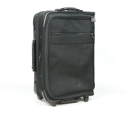 Briggs & Riley Domestic Carry-On Upright Garment Bag / Suitcase / Black $499 Ret