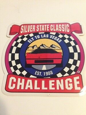 5 Silver State Classic Challenge Promo Stickers Nevada Ely 2 Las Vegas  Race Car