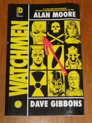Watchmen by Alan Moore Dave Gibbons DC Comics (Paperback)> 9781401248192