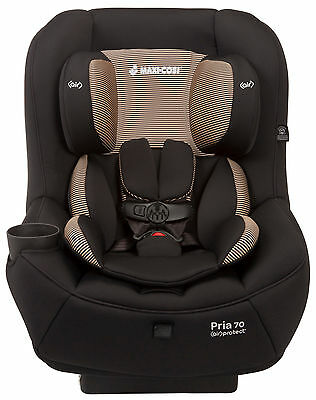Maxi-Cosi Pria 70 Convertible Car Seat Child Safety w/ Air Protect Black Toffee