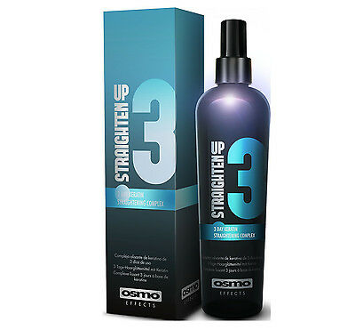 Osmo STRAIGHTEN UP 3 DAY Keratin Hair Straightening Relaxer Complex - 250ml
