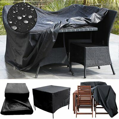 Heavy Duty Waterproof Outdoor Furniture Cover Patio Table Garden Rain Protection