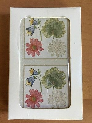 Longaberger Botanical Fields Playing Cards by Style & Paper - 1 Deck