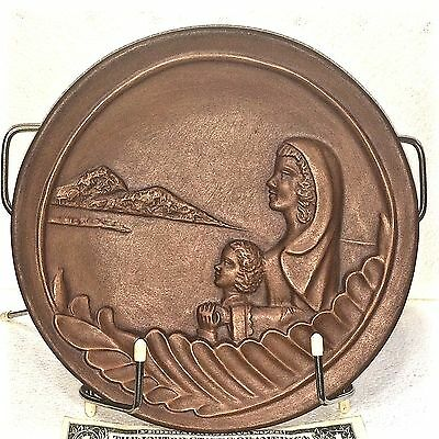 Beautiful Frankoma Madonna Plate Madonna of Love 1978 Grace Lee Frank Signed QQ!