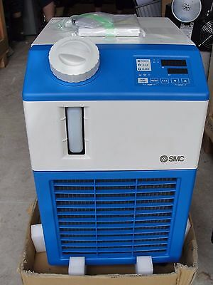 SMC HRS024-A-20-JMT-X021 Air Cooled Thermo Chiller NEW W/ Manual