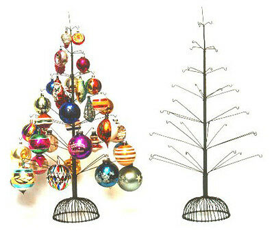 Wire Christmas Tree for 40 Decorations ~