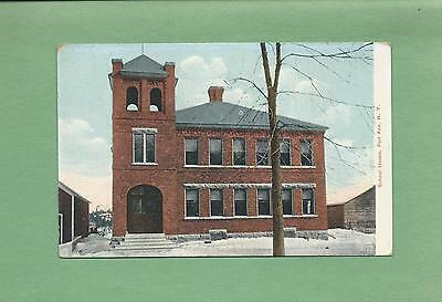 The OLD SCHOOL HOUSE In FORT ANN, NY On Vintage Postcard