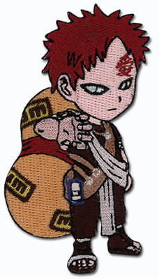 """Naruto Gaara Figure Super Deform Embroidered 3"""" Tall Patch NEW UNUSED"""