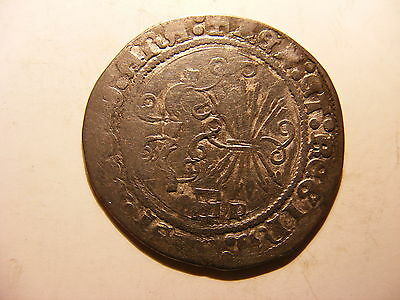 Spain Silver 1 Real, Ferdinand & Isabella, Toledo Mint VF (for issue)
