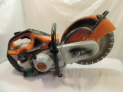 """Stihl Ts420 Gas Powered 14"""" Cut-Off Concrete Saw With Concrete Blade ^^"""