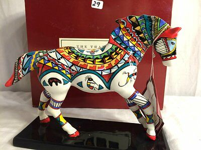 2006 Trail of the Painted Ponies Pottery Horse CERAMIC Many Tribes 1E/1837