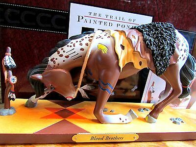 TRAIL OF PAINTED PONIES Kneeling Worship Horse BLOOD BROTHERS Low #1E/0430