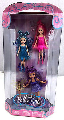 Barbie Fairytopia Wingdom 4 Mini Fairies H9263 2005 NIB