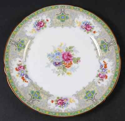 Shelley GEORGIAN GREEN Salad Plate 665635