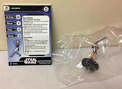 Star Wars Miniatures Juhani Knights of the Old Republic #44 - With Card