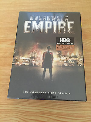 Boardwalk Empire: The Complete First Season (DVD, 2012, 5-Disc Set) NEW
