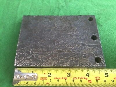 3 Pound Steel Block To Use As An Anvil, For Metal Working Or Repair Work
