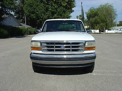 1995 Ford Bronco XLT 1995 Ford Bronco XLT 1992 1993 1994 1996 CA truck