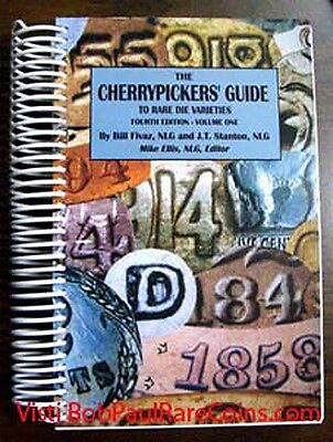 Cherrypicker's Guide To Rare Die Varieties Coin Book 4Th Ed Vol.1