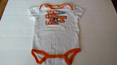 Baby boys Tennessee volunteers one piece size 24 months