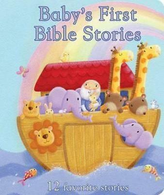 NEW Baby's First Bible Stories By Rachel Elliot Board Book Free Shipping