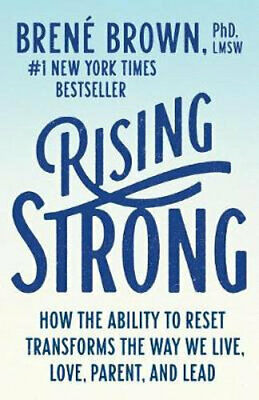 NEW Rising Strong By Brene Brown Paperback Free Shipping