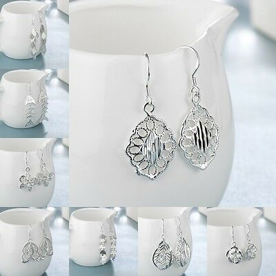 Fashion Design Jewelry Solid Silver Womens 925sterling Silver Earrings Xmas Gift