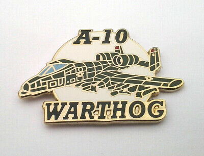 A-10 WARTHOG THUNDERBOLT  Military Veteran US AIR FORCE Hat Pin P15605 EE