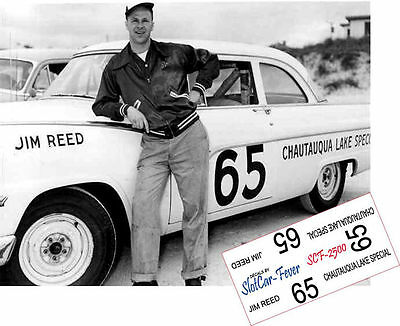 CD_2500 #65 Jim Reed  1955 Ford   1:64 scale decals
