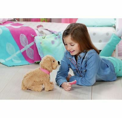 BABY Born Train Click and Control Andy the Puppy with Accessories-Official Argos