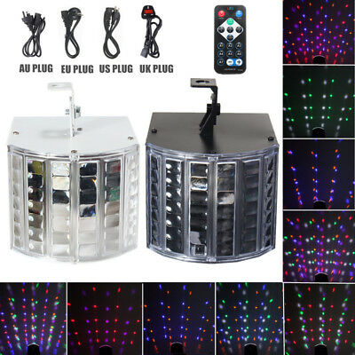 Sound Active DMX RGB Stage Lighting LED Light Laser Effect Club Disco Party 18W