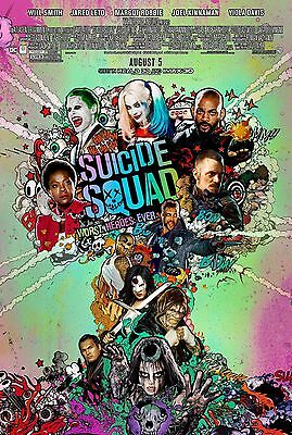 Suicide Squad Original D/S One Sheet Rolled Movie Poster Poster 27x40 NEW 2016