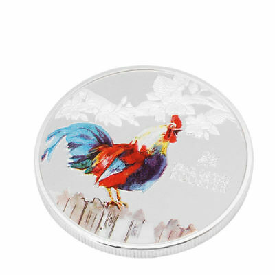 2017 Year Of The Rooster Elizabeth II Niue Commemorative Collection Gift Coin