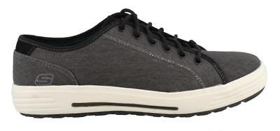 Skechers Porter Meteno Lace Up Shoes Wide Width Mens Athletic Casual Shoes