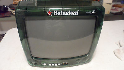 "Rare 2000 Heineken Beer Green See Through 13"" Tv Television Sign Only 1 On Ebay"