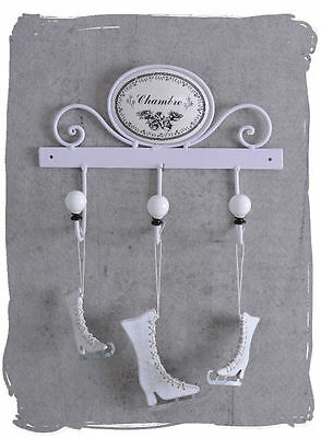 Hook Rail White Coat Hook Shabby Chic Towel Holder Hook
