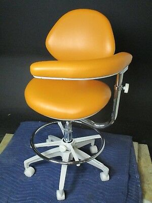 Summit Dental Systems SDS Deluxe Assistant Stool w/ Ultraleather Upholstery