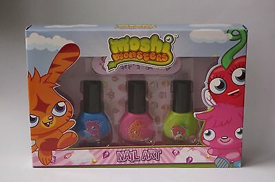 MOSHI MONSTERS - NAIL ART SET - 3 x 5ML #92-14-5