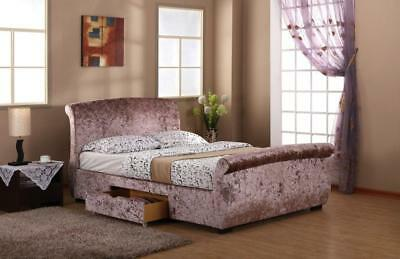 Unique Harmony Regent 2 Draw Bed Frame in sizes 4ft 6 double & 5ft kingsize