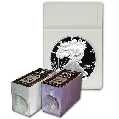 1 Pack of 25 BCW Eagle Coin Storage Display Slab Foam Inserts in White only