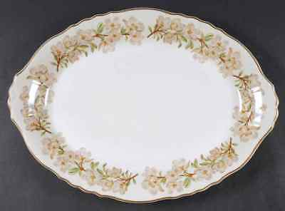 """Syracuse ORCHARD 16 1/4"""" Oval Serving Platter S705105G2"""