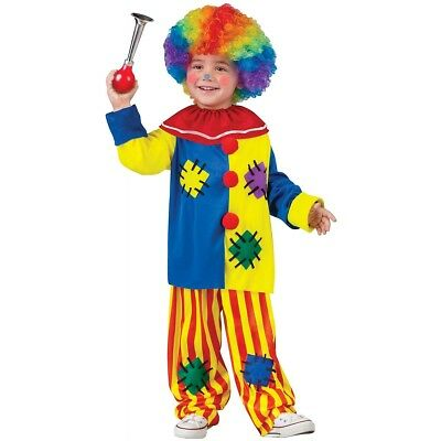 Clown Costume Toddler Boys Halloween Fancy Dress