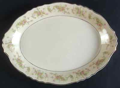 """Syracuse DEARBORN 16 1/4"""" Oval Serving Platter S702537G2"""